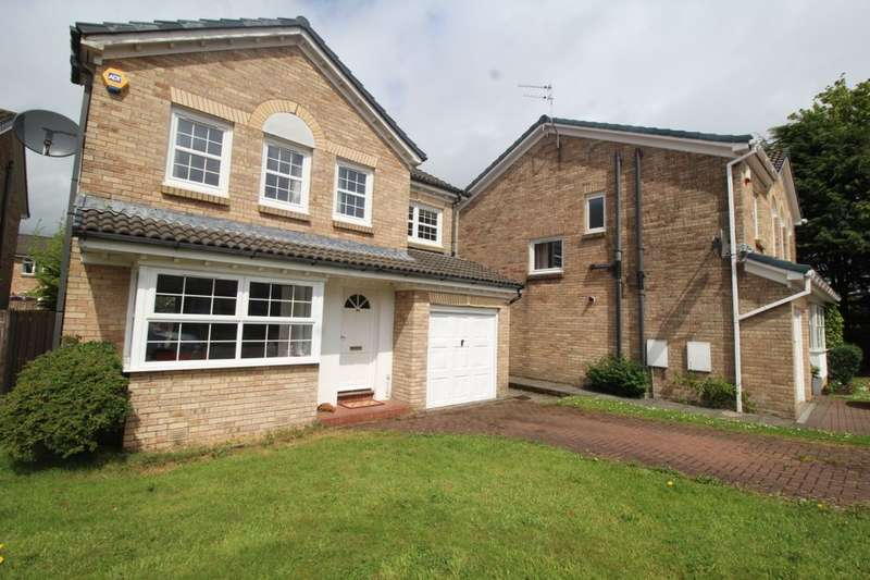 4 Bedrooms Detached House for sale in Martin Brae, LIVINGSTON, EH54