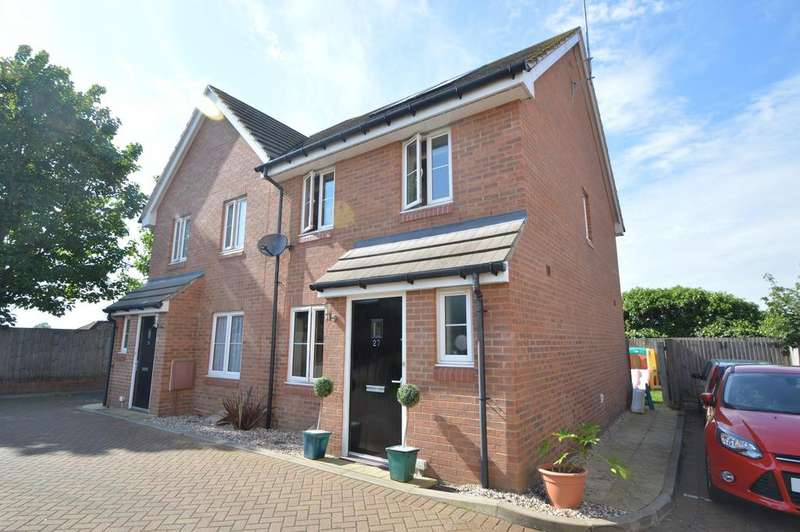3 Bedrooms Semi Detached House for sale in Perryfields, Braintree CM7