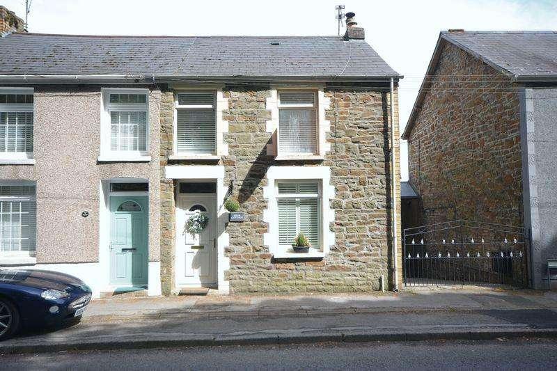 3 Bedrooms Semi Detached House for sale in Bryn Cottage, Coytrahen, Bridgend