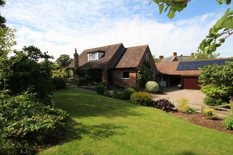 4 Bedrooms Detached House for sale in Winscombe Hill, Winscombe