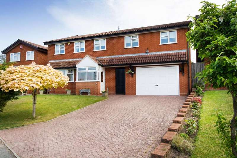 6 Bedrooms Detached House for sale in Merrill Gardens, Marlbrook, Bromsgrove