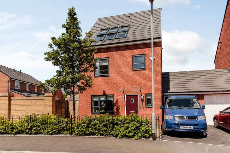 4 Bedrooms Detached House for sale in River View Drive,Salford, M7 1BG