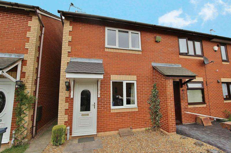 2 Bedrooms End Of Terrace House for sale in Avern Close, Tipton