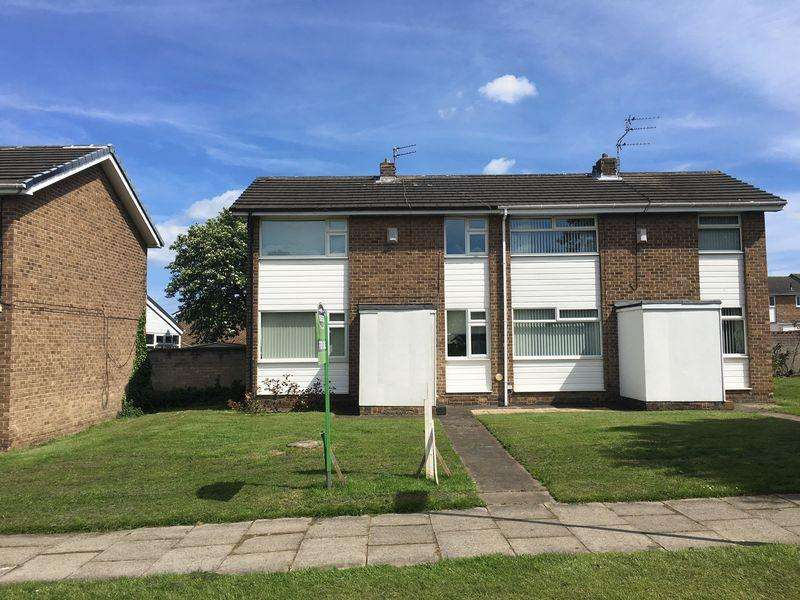 2 Bedrooms Semi Detached House for sale in Thirston Drive, Cramlington