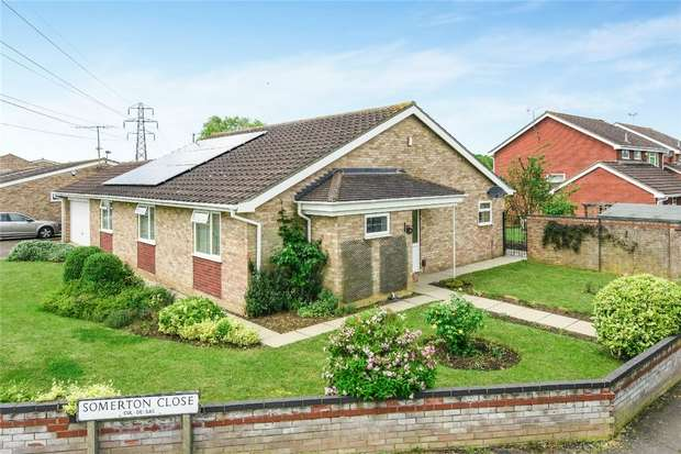 3 Bedrooms Detached Bungalow for sale in Somerton Close, Bedford