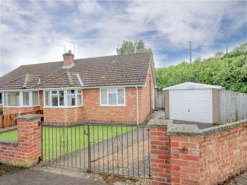 2 Bedrooms Semi Detached Bungalow for sale in Willow Way, Flitwick, Bedford, MK45