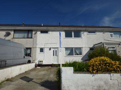 3 Bedrooms Terraced House for sale in Tan Y Bryn, Valley, Holyhead, Sir Ynys Mon, LL65