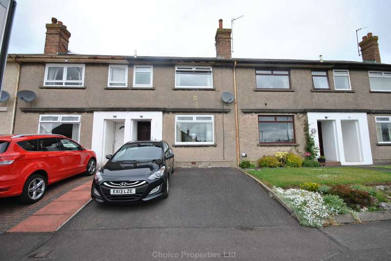 2 Bedrooms Terraced House for sale in Thorntoun Avenue, Crosshouse, KA2 0HY