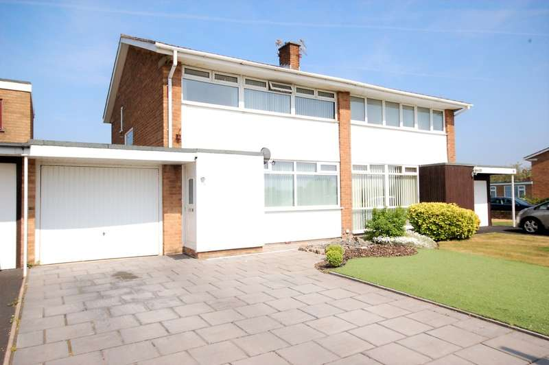 3 Bedrooms Semi Detached House for sale in Oxford Road, Lytham St Annes