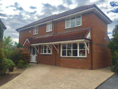 3 Bedrooms Detached House for sale in Blyth Close, Timperley, Altrincham, Greater Manchester