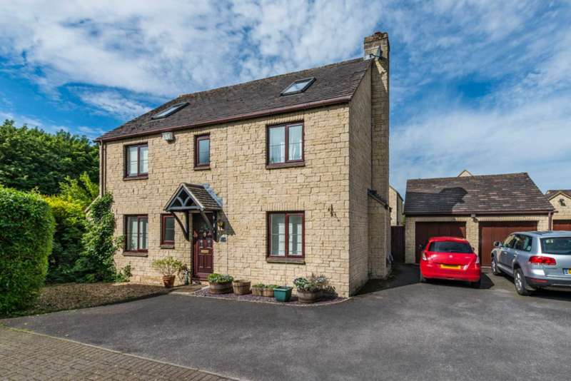 5 Bedrooms Detached House for sale in Valance Crescent, Witney
