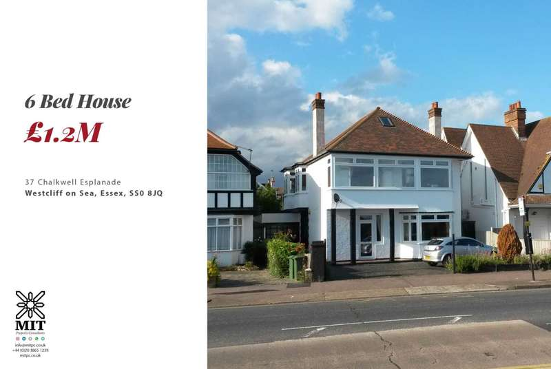 6 Bedrooms House for sale in Chalkwell Esplanade, Southend On Sea