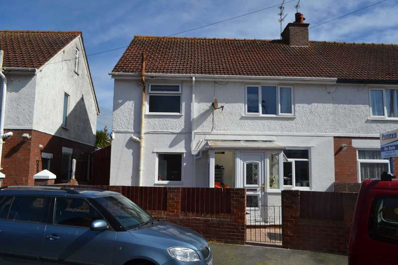 3 Bedrooms Semi Detached House for sale in Bridge Road, Exmouth
