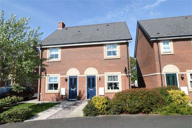 2 Bedrooms Semi Detached House for sale in Tramside Way, Carlisle, Cumbria, CA1 2FH