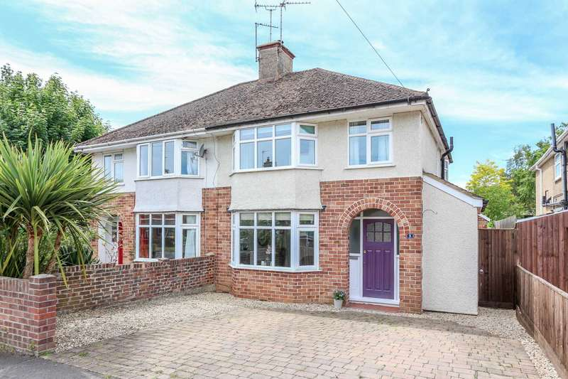 3 Bedrooms Semi Detached House for sale in St. Nicholas Road, Wallingford