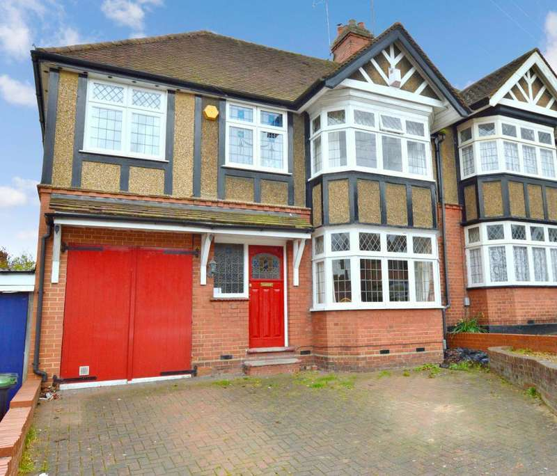4 Bedrooms Semi Detached House for sale in Cutenhoe Road, South Luton, Luton, LU1 3NJ