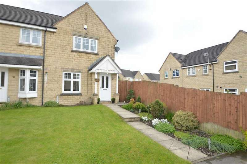 2 Bedrooms End Of Terrace House for sale in Magpie Close, Bradford 6, Bradford