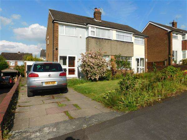 3 Bedrooms Semi Detached House for sale in Eskdale, Gatley, Cheshire