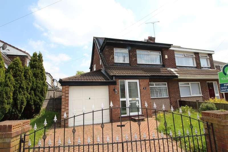 3 Bedrooms Semi Detached House for sale in Banner Hey, Whiston, Prescot, L35