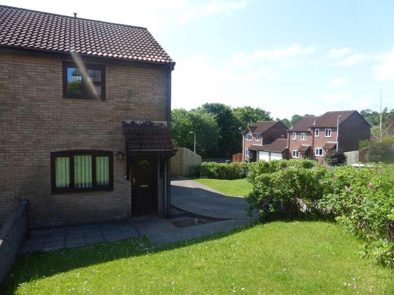 2 Bedrooms End Of Terrace House for sale in Llys Garth, Llantwit Fardre, Pontypridd