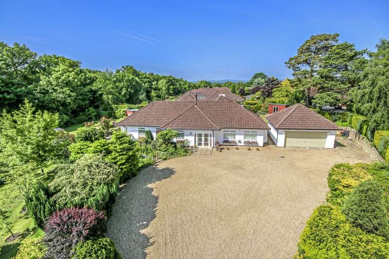4 Bedrooms Detached Bungalow for sale in Threals Copse, West Chiltington, West Sussex, RH20