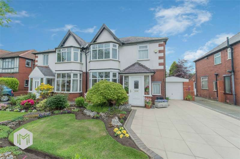 3 Bedrooms Semi Detached House for sale in Stapleton Avenue, Heaton, Bolton, Lancashire