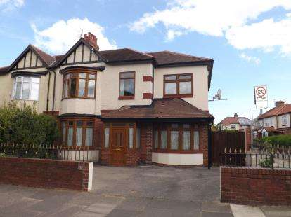 5 Bedrooms Semi Detached House for sale in King George Road, South Shields, Tyne and Wear, NE34