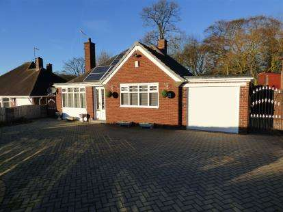 2 Bedrooms Bungalow for sale in Clough Hall Road, Kidsgrove, Stoke-On-Trent, Staffordshire
