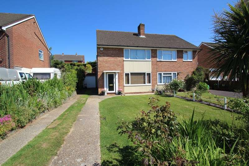 3 Bedrooms Semi Detached House for sale in Longstaff Gardens, Fareham
