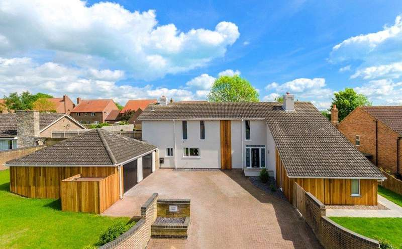 4 Bedrooms Detached House for sale in Tanners Lane, Corby Glen, Grantham, NG33