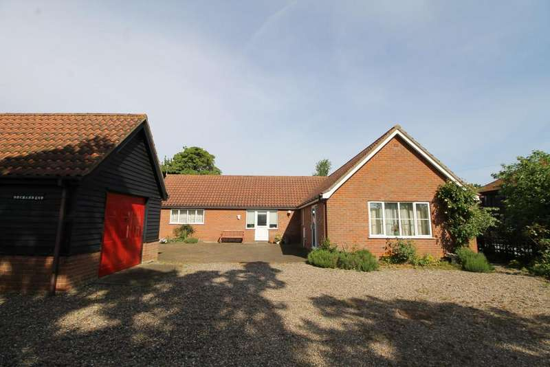 3 Bedrooms Detached Bungalow for sale in Cransford, Nr Saxmundham