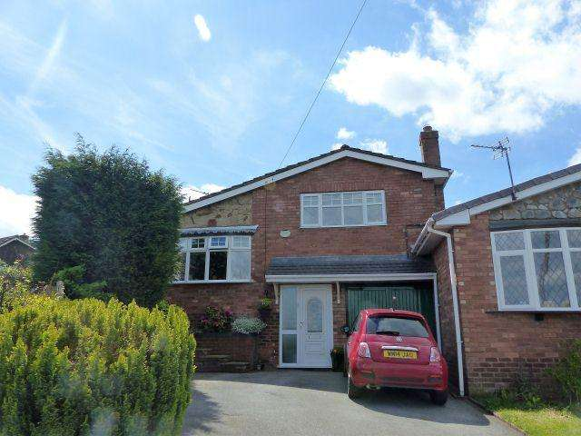 4 Bedrooms Link Detached House for sale in Morlings Drive,Burntwood,Staffordshire