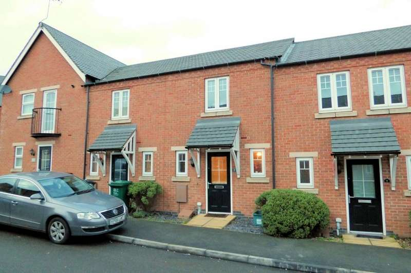 2 Bedrooms Town House for sale in Merton Close, Church Gresley