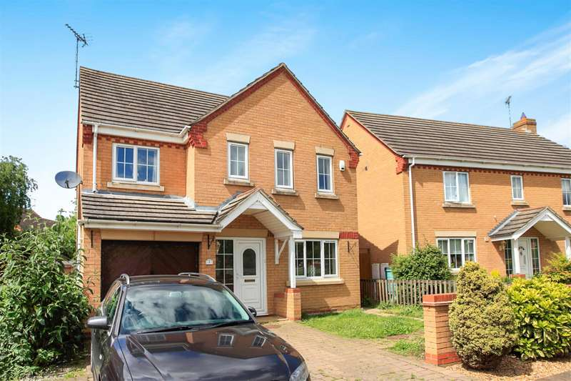 4 Bedrooms Detached House for sale in Holly Walk, Hampton Hargate, Peterborough, PE7