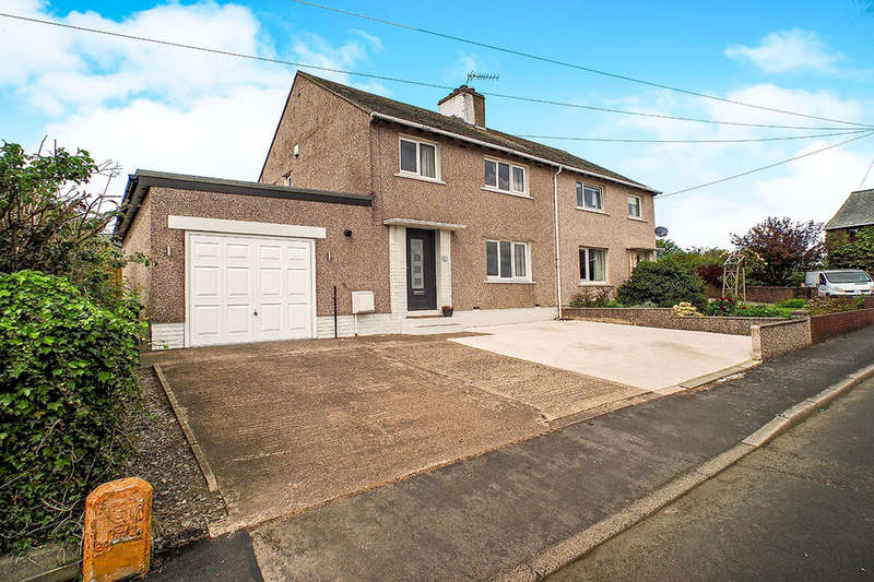 3 Bedrooms Semi Detached House for sale in Stoneycroft, Great Clifton, Workington, CA14