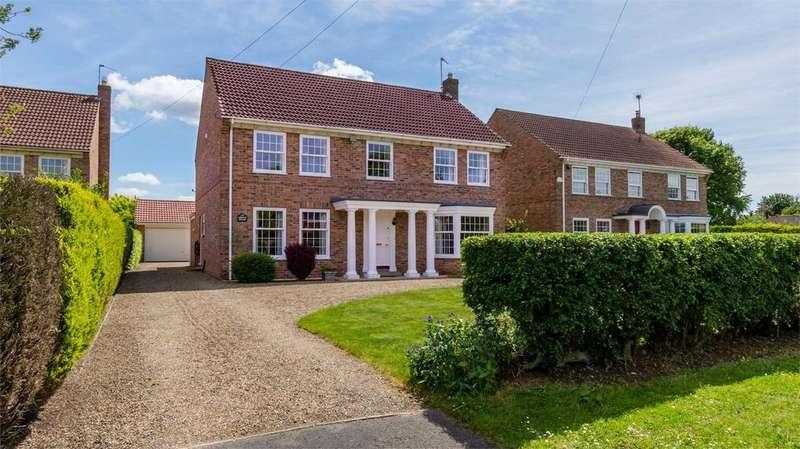 4 Bedrooms Detached House for sale in Long Ridge Lane, Upper Poppleton, York