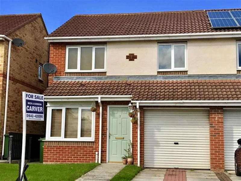 3 Bedrooms Semi Detached House for sale in Van Mildert Way, Hartburn