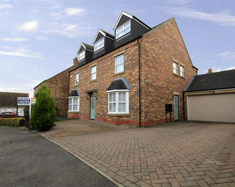6 Bedrooms Detached House for sale in Poplars Lane, Carlton, Stockton-on-Tees