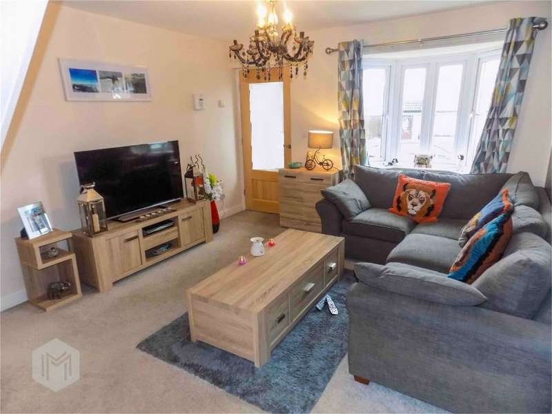 2 Bedrooms End Of Terrace House for sale in Lowerbrook Close, Horwich, Bolton, Lancashire