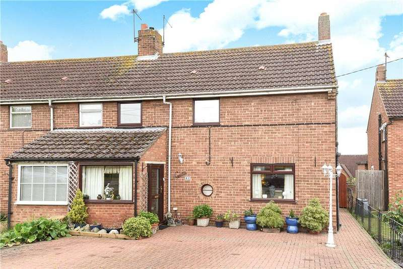 3 Bedrooms End Of Terrace House for sale in Dagnall Road, Olney, Buckinghamshire