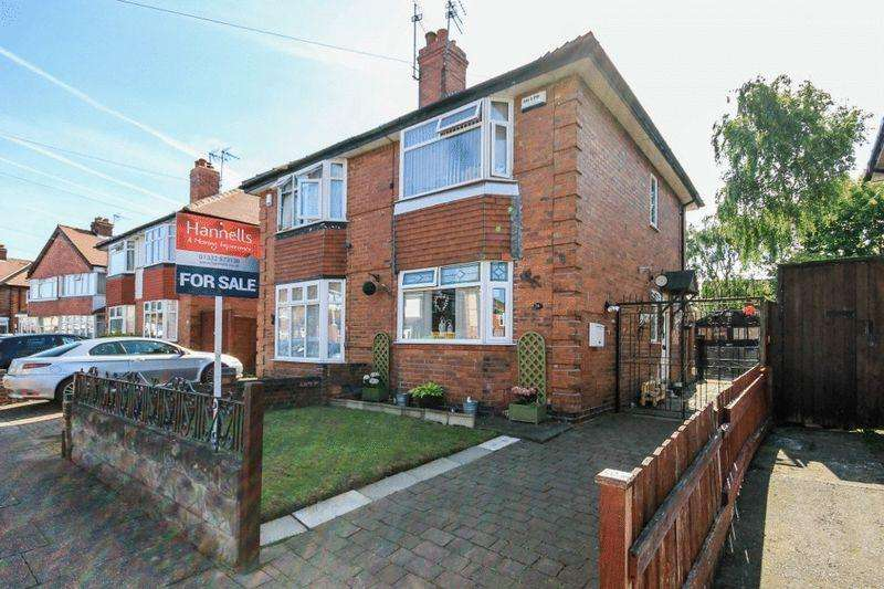 2 Bedrooms Semi Detached House for sale in LINCOLN AVENUE, ALVASTON