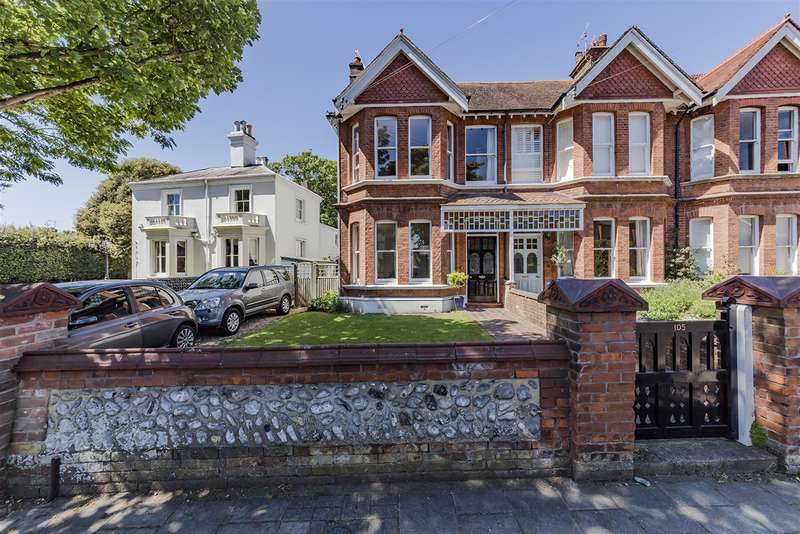 3 Bedrooms End Of Terrace House for sale in Heene Road, Worthing, West Sussex, BN11 4PH