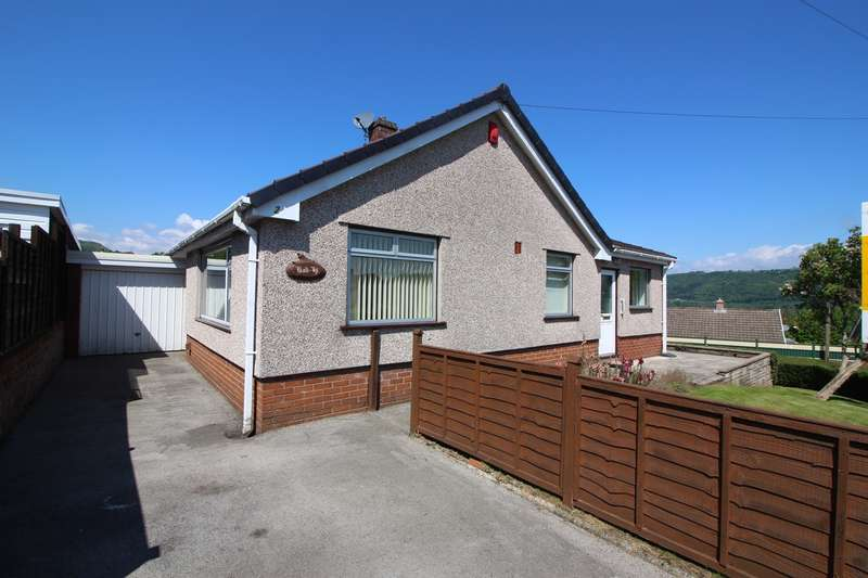 2 Bedrooms Detached Bungalow for sale in Stephens Crescent, Govilon, Abergavenny, NP7