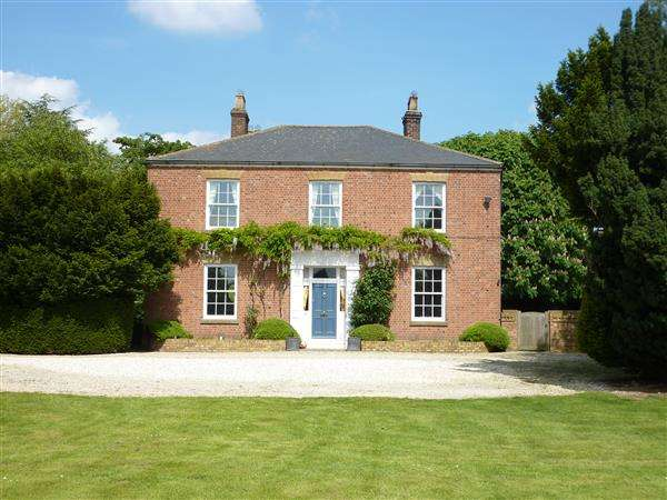 5 Bedrooms Detached House for sale in BARROW GRANGE, WOLD ROAD, BARROW UPON HUMBER