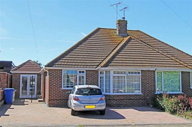 2 Bedrooms Semi Detached Bungalow for sale in Sterling Road, Sittingbourne, Kent