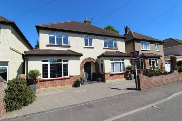 4 Bedrooms Detached House for sale in Limes Close, Ashford, Surrey