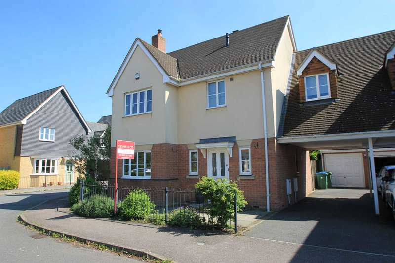 4 Bedrooms Link Detached House for sale in Windsor Road, Pitstone