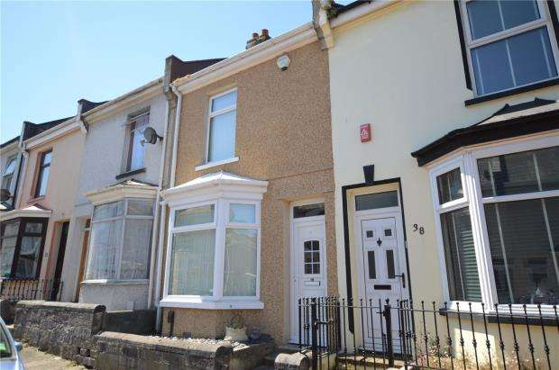 2 Bedrooms Terraced House for sale in Victory Street, Plymouth, Devon