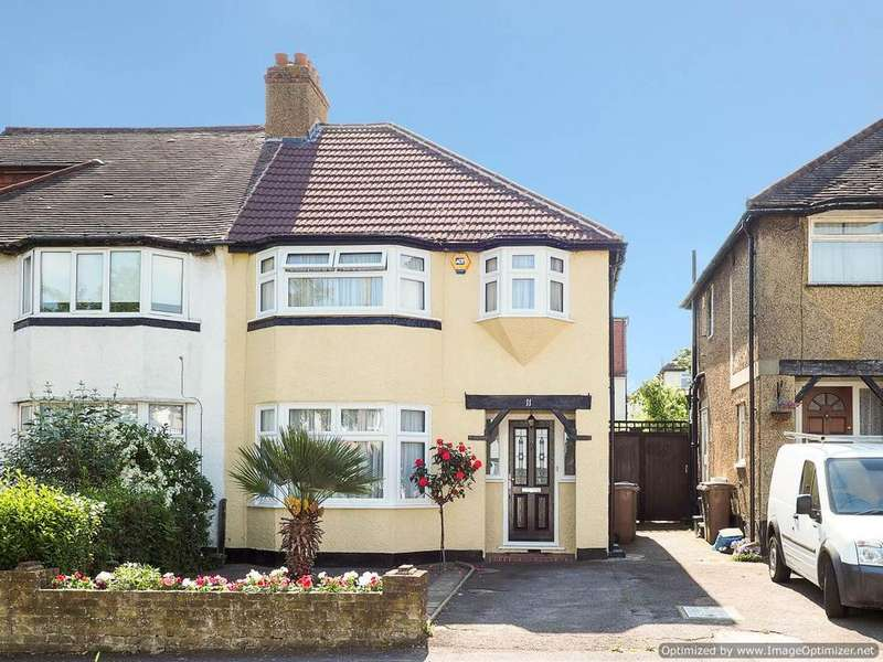 3 Bedrooms Semi Detached House for sale in Gillian Park Road, Sutton SM3