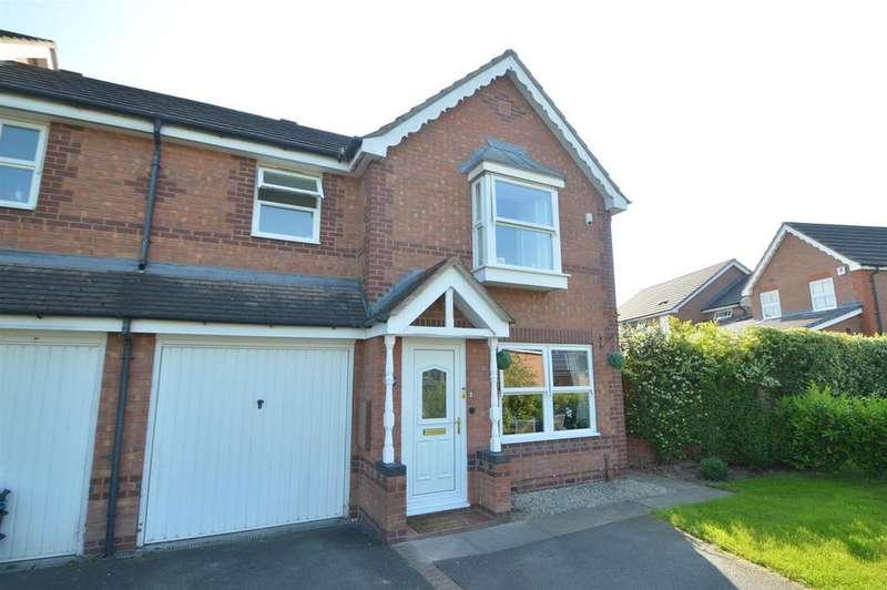 3 Bedrooms Semi Detached House for sale in 18 Shillingston Drive, Berwick Grange, Shrewsbury SY1 4YP